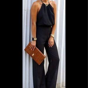 NWT Bar III black jumpsuit